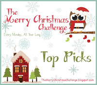 I was The Merry Christmas Challenge Top Pick