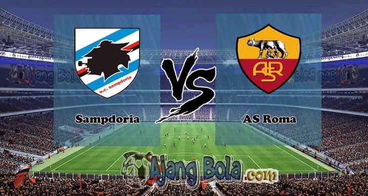 Prediksi Skor Sampdoria vs AS Roma 26 Oktober 2014, Serie A