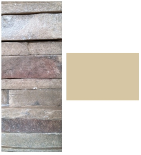 How To Choose Wall Color When you Have Pink in Your Fireplace Stone ...