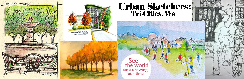 Urban Sketchers: Tri-Cities WA
