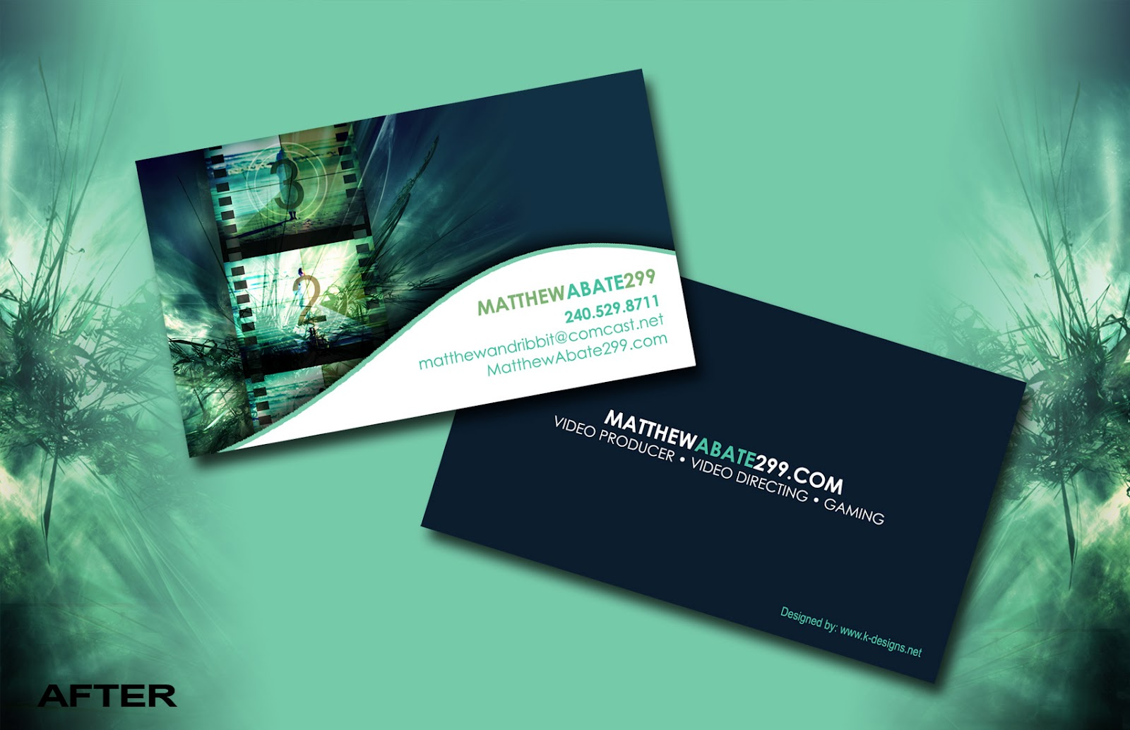 K-Designs Graphic Design Studio: Extreme Makeover: Business Card Edition