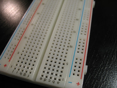 Breadboard Closeup
