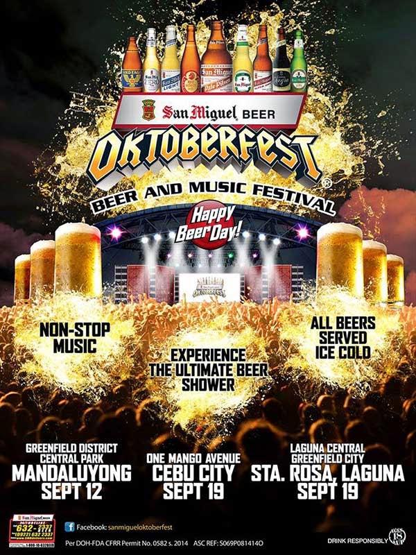 2014 San Miguel Beer Oktoberfest