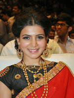 Samantha photos at Son Of Sathyamurthy Audio-cover-photo