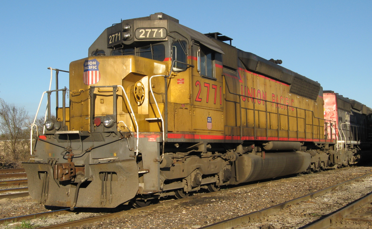 UP 2771 was built in 1970 as