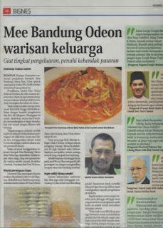 Rempah Mee Bandung Pek Famili, mee batu pahat, rempah mee bandung batu pahat