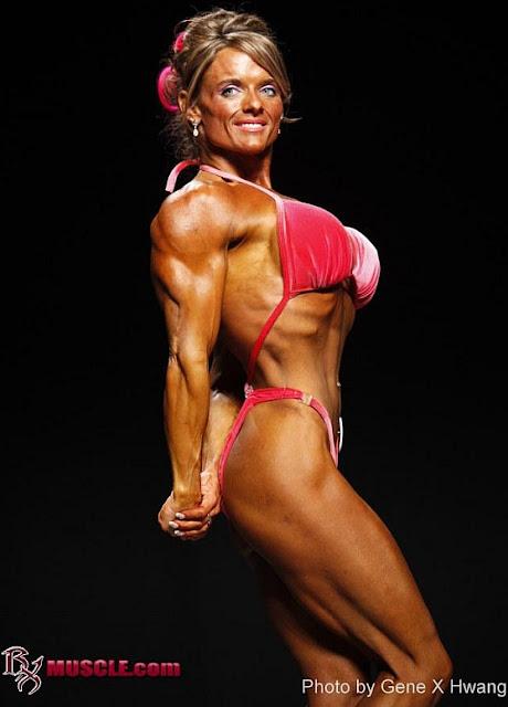 Carmen Tocheniuk - Canadian bodybuilder