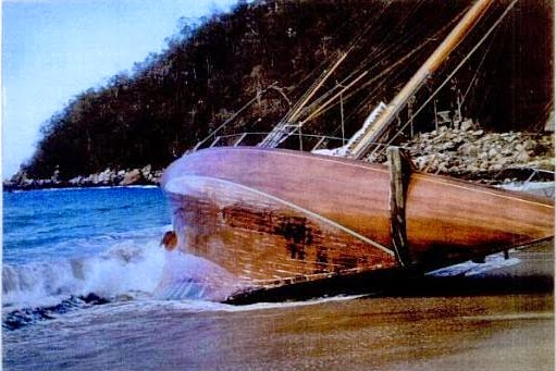 Windward Beached 1958