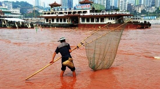 rio color rojo