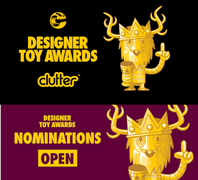 Clutter's 5th Annual Designer Toy Awards Are Back - Nominations Are Open Now