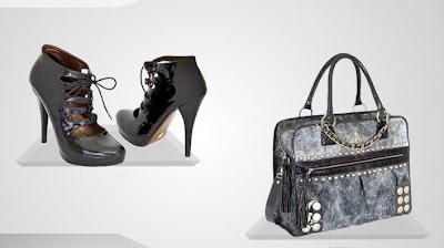 gizia siyah ayakkabi canta modeli 2013 Gizia Marka Yeni Trend Çanta Ayakkabı Modelleri
