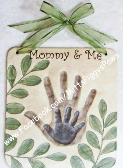 """""""Mitts, Piggys & Paws"""" Baby Hand & Feet Impressions, plus Pet Paws!"""