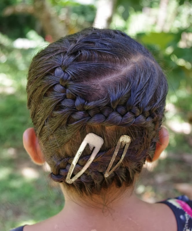 Braids hairstyles for super long hair micronesian girl zig zag micronesian girl zig zag french braid ccuart Images