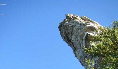 5 batu gantung super menakjubkan di dunia paling uniks for Cabine sospese di rock state park nc