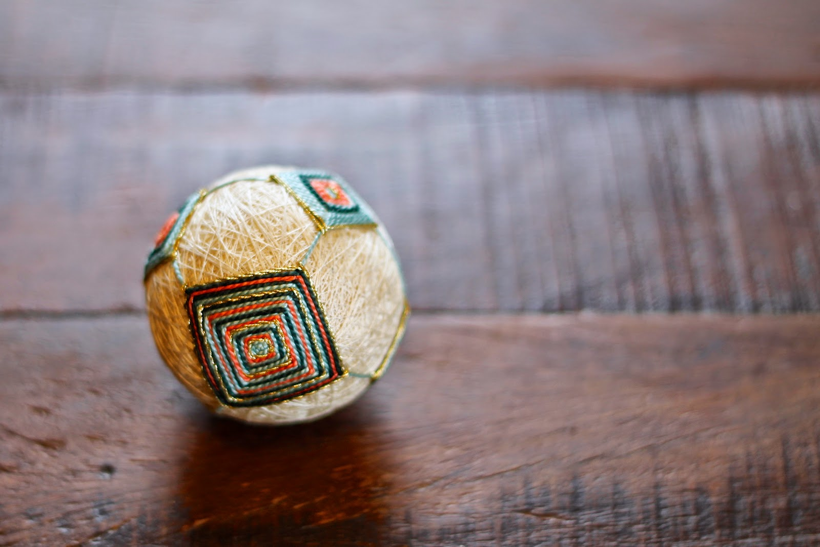 how to make japanese temari balls