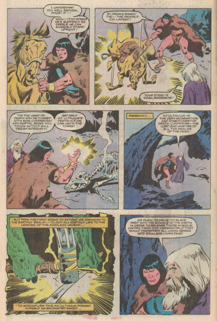Conan the Barbarian (1970) Issue #170 #182 - English 6