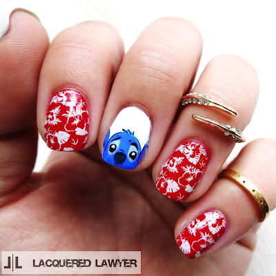 Lilo and Stitch Nails