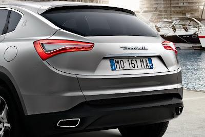2012 Maserati Kubang SUV
