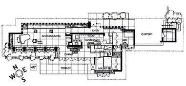 pic3 essay frank lloyd wright's usonian homes attainable dream or,Bachman Wilson House Plans