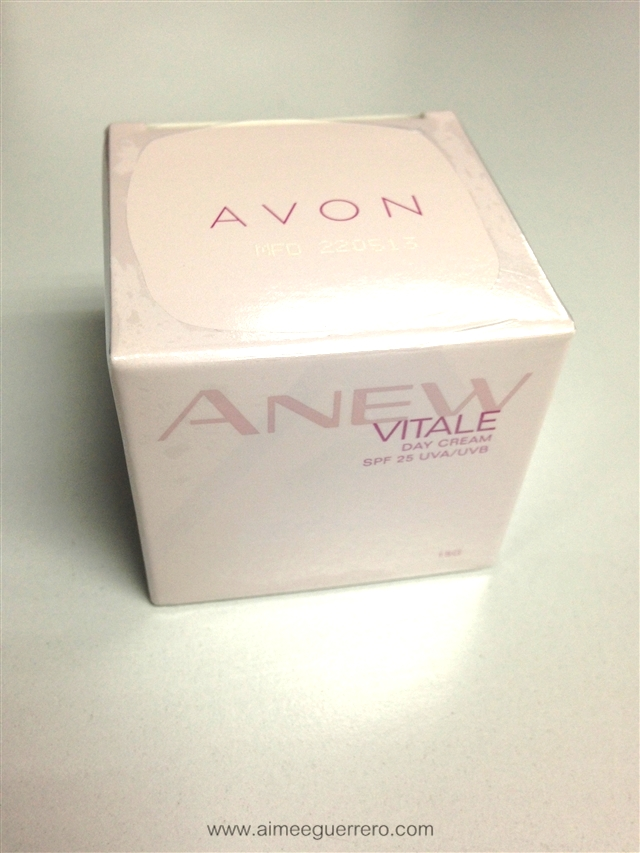 ANEW Vitale Day Cream   Avon Glamourbox