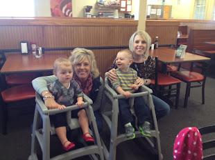 4/7/12 Sarah & Reese (almost 18 mos), Jamie & Mason (18 mos)