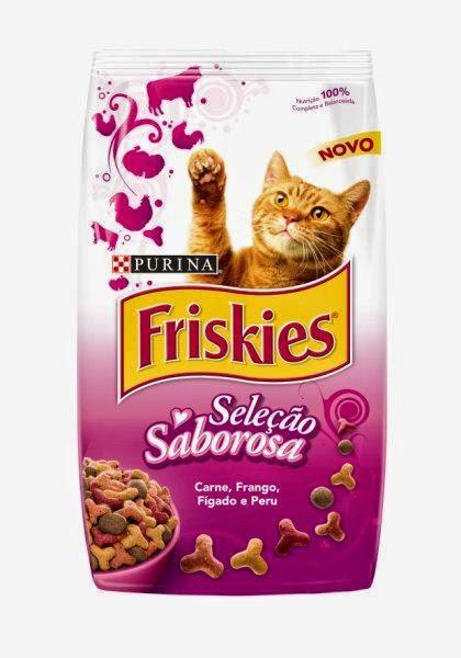 Ração pra gato Friskies seleção saborosa