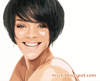 Rihanna Hot cartoon Wallpaper 2011