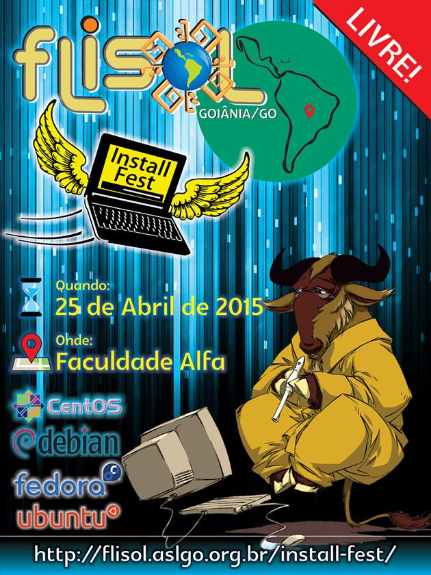 Vem aí mais um Festival Latinoamericano de Instalação de Software Livre - FLISoL