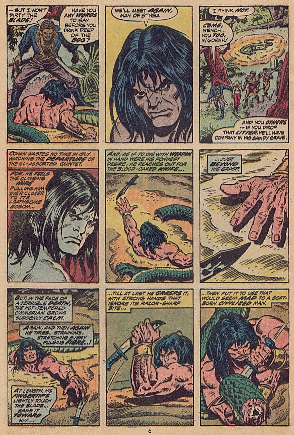 Conan the Barbarian (1970) Issue #28 #40 - English 6