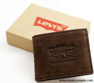 Levi's Wallets upto 75% off from Rs. 349 – Flipkart