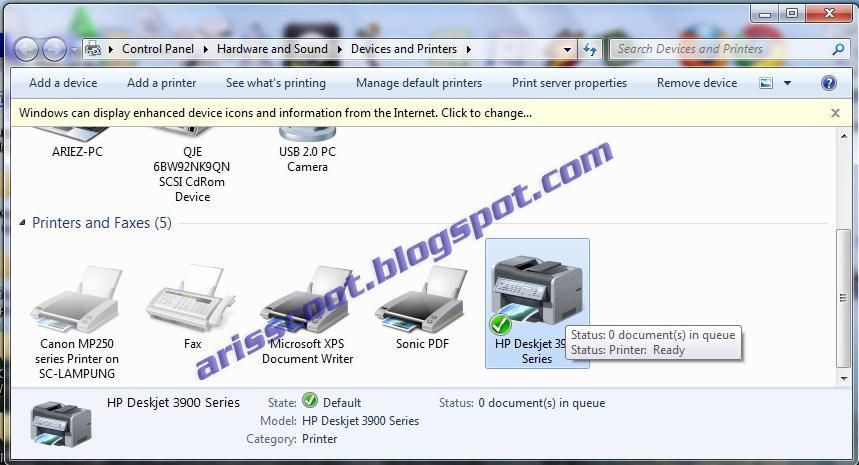Скачать драйвера для принтера hp deskjet 3940