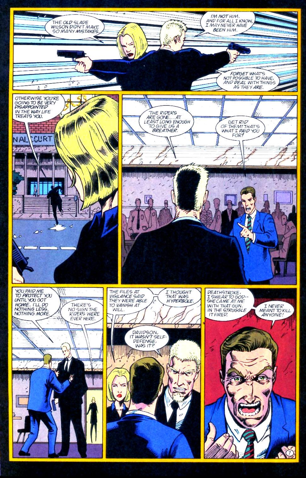 Deathstroke (1991) Issue #59 #64 - English 8