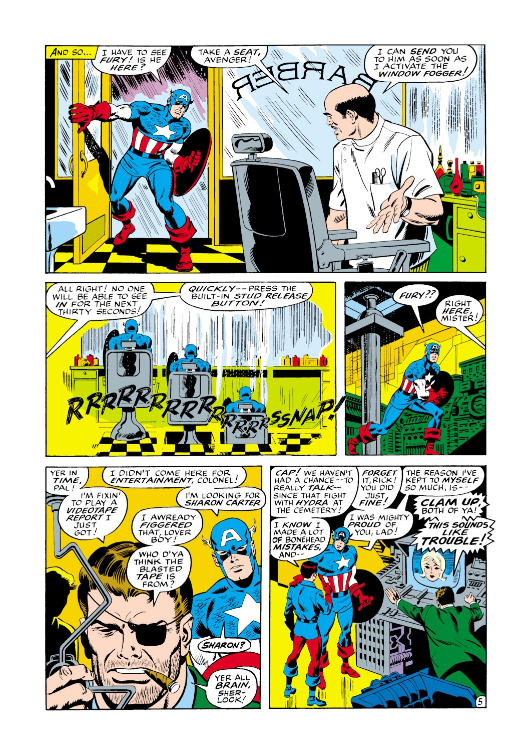 Captain America (1968) Issue #114 #28 - English 6