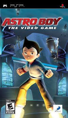 Free Download Astro Boy The Video Game PSP Cover Photo