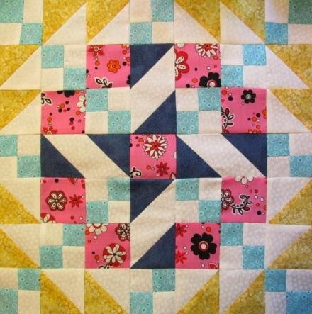 simple quilt block