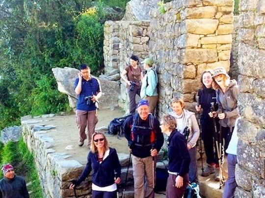 Inti Punku the Sun Gate Inca Trail