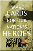 Interested in sending cards to our Heroes?