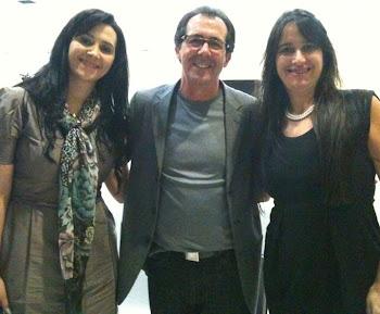Angela Sirino, Pr. Silmar Coelho e Marta Lança ( CIMEB / Goiânia)