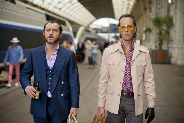 """Jude Law y Richard E. Grant en """"Dom Hemingway"""""""