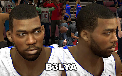 NBA 2K13 Greg Monroe Cyberface Patch