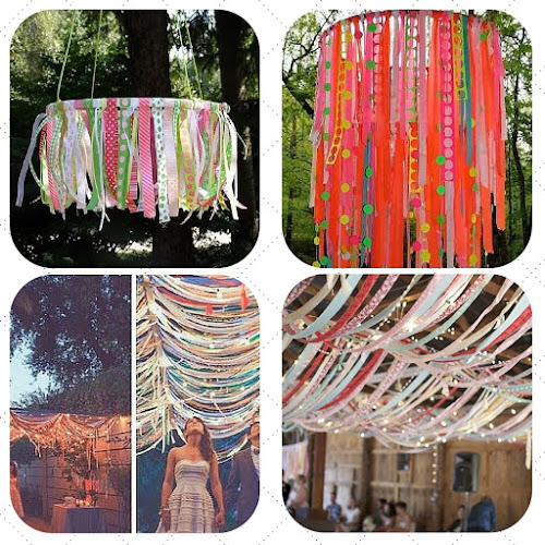 trim or ribbon hoop, garland, tutorial blog, wedding decoration ideas