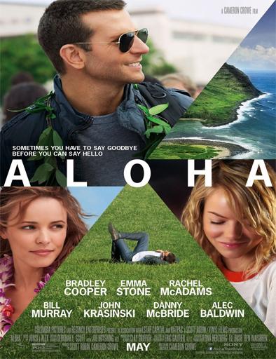 Ver Bajo el mismo cielo (Aloha) (2015) Online