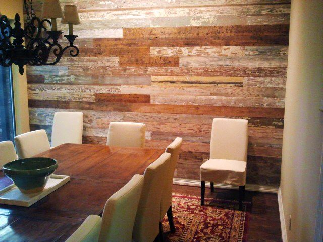 Crafty Texas Girls Build It Old Wood On Ceilings And Walls