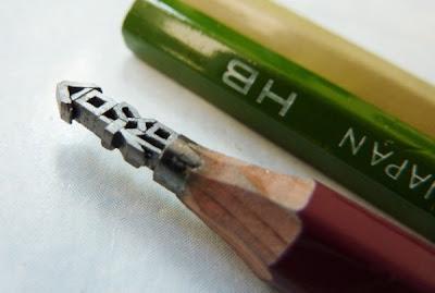Incriveis esculturas no grafite dos lápis