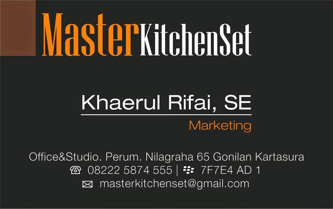 kitchen set solo premium hubungi masterkitchenset