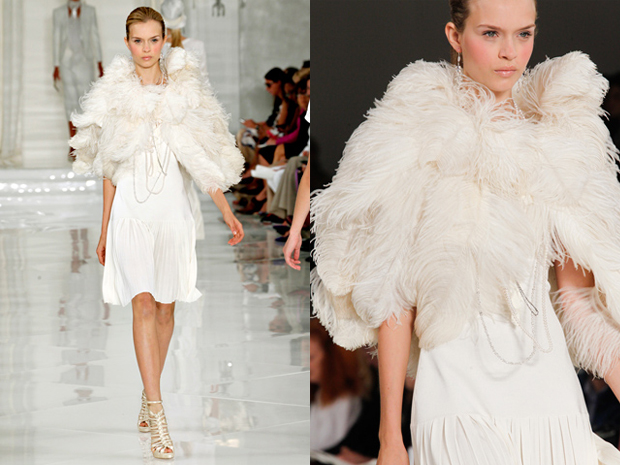 Dawn Js Fashion Wedding Gown Ralph Lauren 2012 Collection