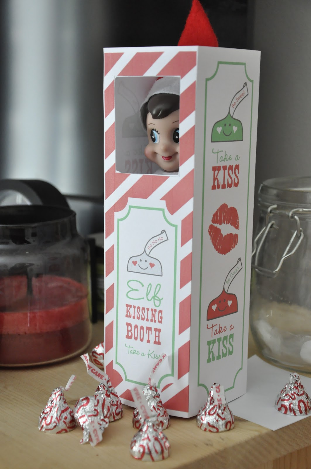Chris 39 creative life december 2012 for Elf on the shelf chocolate kiss