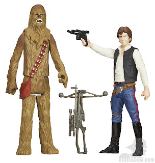 Hasbro Star Wars Mission Series: Death Star - Han Solo and Chewbacca Figures