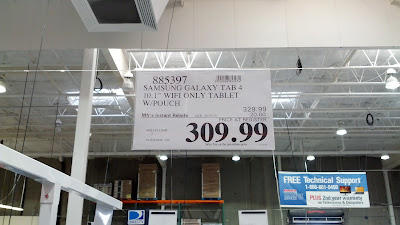 You can buy the Samsung Galaxy Tablet 4 at Costco