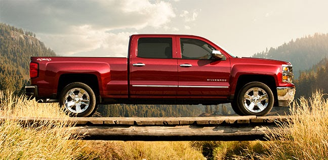 2014 Chevy Silverado 1500 Earns 5-Star Overall Vehicle Score